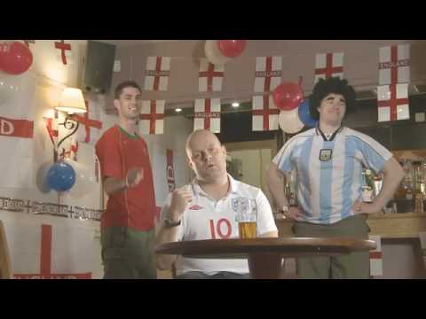 Unofficial England World Cup 2010 Song - We Are Engerland  by Three Brians