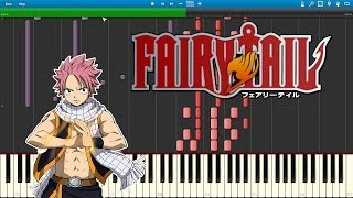 Masayume Chasing - Fairy Tail (2014) OP 15 - BoA  \\(Piano Cover Tutorial) [Synthesia]