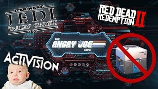 AJ News: New EA Star Wars, Sekiro Difficulty,  Activision Spying, Red Dead 2 Lawsuit, FTC Lootboxes!