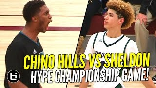 Ball Brothers vs Duplechan Brothers! Chino Hills vs Sheldon HYPE Championship Game! Full Highlights!