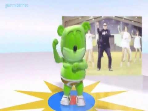 Gangnam Gummy Style Dance Gummibär The Gummy Bear Psy 싸이 Cover Song 강남스타일 .FULL