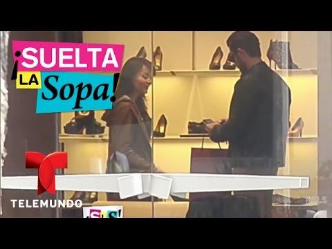 Suelta La Sopa Angelique Boyer y Sebastián Rulli se fueron de compras en México Entretenimiento