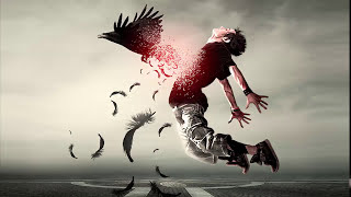 How to Make Disintegration Effect in Photoshop CS6/ CC     Feather Disintegration Effect