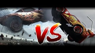 Original VS Remake | Cars 3 Trailer Comparision | TrackMania 2 Remake