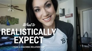 What to realistically expect out of a coaching relationship