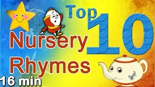 Collection of Top 10 Nursery Rhymes for Children - Play Nursery Rhymes