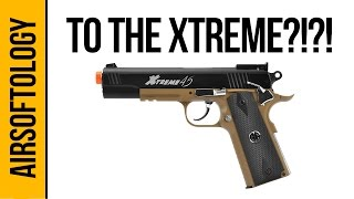 G&G Xtreme 45 Pistol | Airsoftology Review