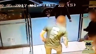Customers Encounter Crazed Attacker at Supermarket Entrance | Active Self Protection