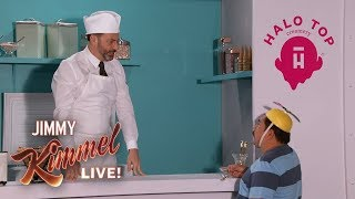 Halo Top Commercial with Jimmy Kimmel & Guillermo
