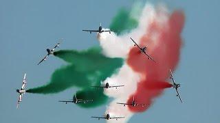 Frecce Tricolori Grado Air Show 2016