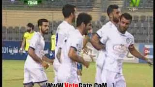 """""""احمد حسن مكى"""" يتقدم بالهدف الاول لـ سموحة فى الاسماعيلى"""