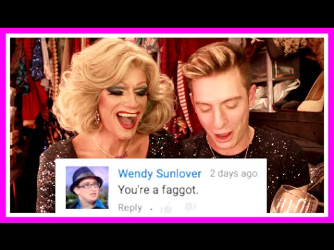 READING MEAN COMMENTS WITH PANTI BLISS
