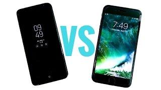 Galaxy S8 Plus vs iPhone 7 Plus! - Speed Test