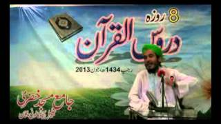 * BAYAN * Muhammad Anas Raza Attari (Quran aur Jadeed Science) Part 5