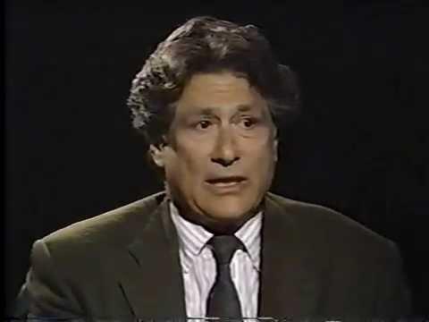 Edward Said Conversation With Bill Moyers