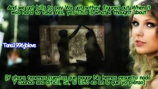Taylor Swift - Mine [Lyrics - Traducida Al Español][Music Video] HD