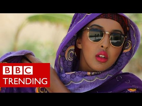 Somalia s where it s at Instagram star uses humour to show the new Somalia BBC Trending