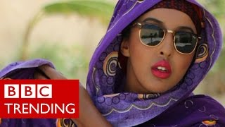 Somalia's where it's at - Instagram star uses humour to show the new Somalia - BBC Trending