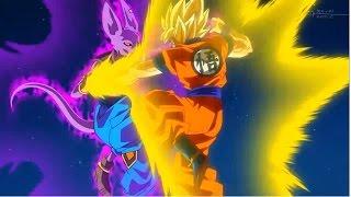SSJ God Goku VS Bills (Full Fight) - Legendado em Português (AMV) - (HD)