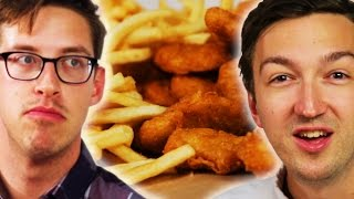 People Learn Chicken Nugget Facts While Eating Them