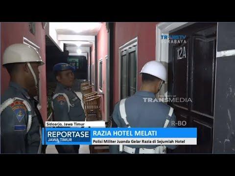 Polisi Militer Juanda Gelar Razia di Sejumlah Hotel Melati