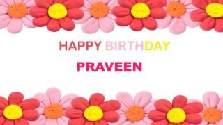 Praveen   Birthday Postcards & Postales - Happy Birthday