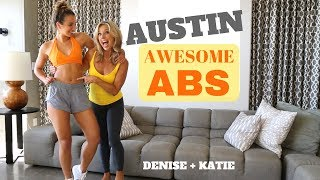 AWESOME ABS by Katie + Denise Austin