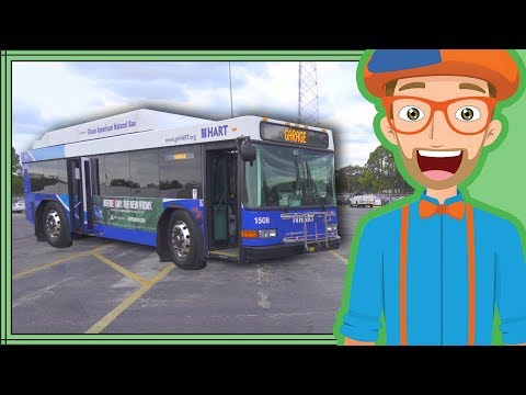 Xxx Mp4 Bus Videos For Children By Blippi Educational Videos For Kids 3gp Sex