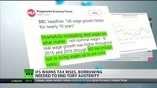 IFS: Ending austerity would cost government a minimum of £19bn