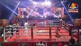 ពិតជាមិនគួរអោយមែន Lao Chantrea vs Khumphet (Thai) Bayon Khmer boxing 07/12/2018