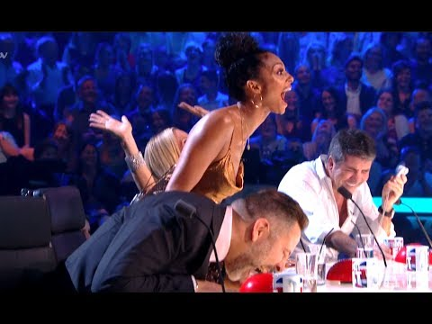 ROFL Golden Buzzer Comedian Makes Judges Can t Stop LAUGHING Semi Final 5 BGT 2017