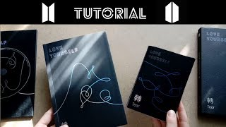 [TUTORIAL] BTS album Love Yourself: Tear (O version)