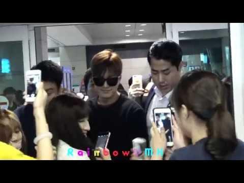 [FanCam] 20150724 LeeMinHo Incheon Airport 입국 from China Guangzhou~~by Rainbow_MH(수정본)