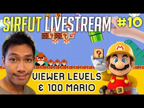 ⭐ LIVE ⭐ | VIEWER LEVELS & 100 MARIO | HD60FPS | 10