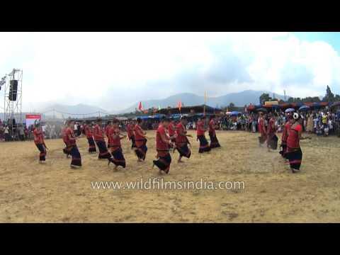 Chakma dance by Tripura's folk dancers