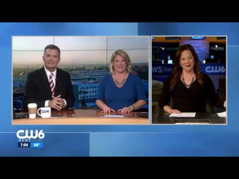 Amy Dupont signs off CW6 San Diego