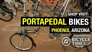 Shop Visit: PortaPedal - Folding and Travel Bikes!
