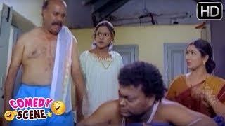 Sadhu Kokila Toilet Comedy Scene | Thayi Illada Thabbali Kannada Movie | SGV Comedy