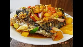 Cá kho Thơm - Bí quyết kho Cá không bị tanh - Cá Nục kho Thơm - Khóm - Dứa by Vanh Khuyen