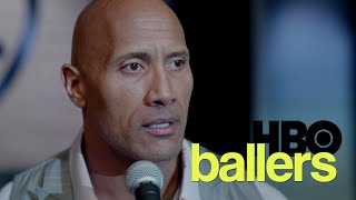 Ballers Season 2 Finale - Spencer Strasmore (The Rock) Monologue speech & Apology to Eddie George