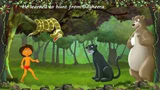 Jungle Book:  An interactive story book for childern in english.