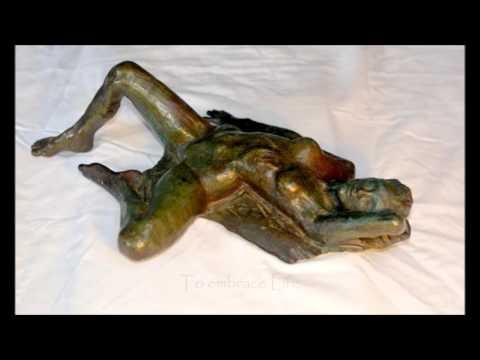Lily Bronze Sculpture Fine Art Nude