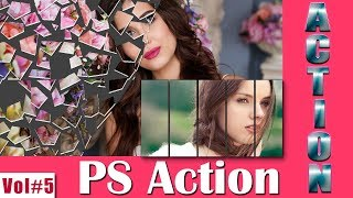 Paper Cut and Slice Action For Photoshop Download Free Vol#5 [desimesikho] 2018
