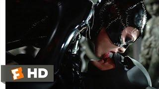 Batman Returns (6/10) Movie CLIP - A Deadly Kiss (1992) HD