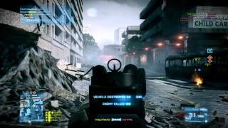 Battlefield 3: Insane Bazaar Conquest match with levelcap and rivaLxfactor