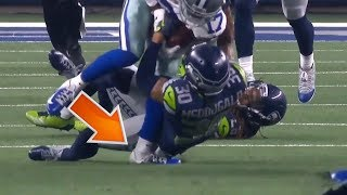 Allen Hurns Gruesome Ankle Injury: Seahawks vs. Cowboys Wild Card
