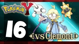 Pokémon Y - Part 16 - vs. Gym Leader Clemont (5th Gym) (Playthrough/Walkthrough)