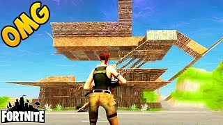 CRAZIEST BASE MADE IN 50v50! - Fortnite Funny Fails and WTF Moments! #39 (Daily Best Moments)