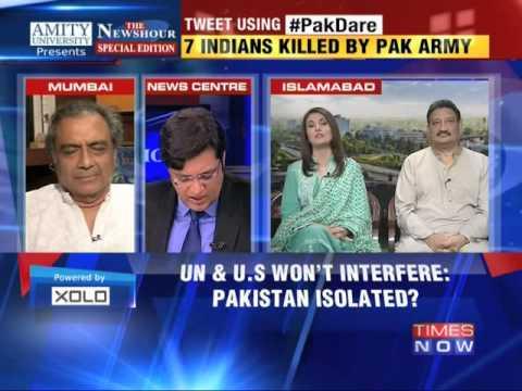 Xxx Mp4 The Newshour Debate Pakistan Kills Civilians Again Full Debate 8th Oct 2014 3gp Sex