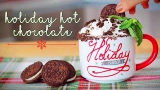 Cookies & Cream + Twix Hot Chocolate Recipes! ◈ Ingrid Nilsen